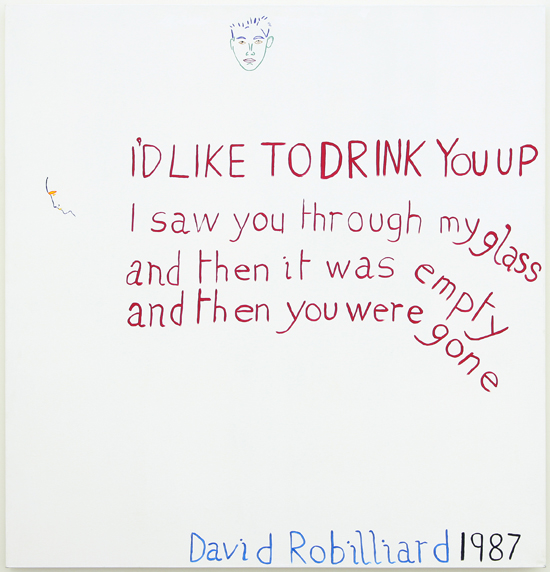 Two Poems from David Robilliard's Baby Lies Truthfully(1990)